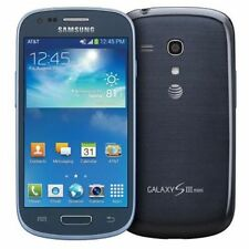 SAMSUNG GALAXY S3 mini SM-G730A BLUE 4G LTE GSM UNLOCKED