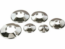 2 X 35MM CHROME PIPE COLLAR (S) / COVER