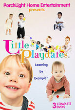 (New DVD) Little Playdates - Learning by Example Toddler social DVD sing along