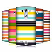 HEAD CASE DESIGNS STRIPES COLLECTION 2 HARD BACK CASE FOR LG PHONES 1