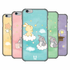 HEAD CASE DESIGNS STARCATCHER BUNNIES HARD BACK CASE FOR APPLE iPHONE PHONES