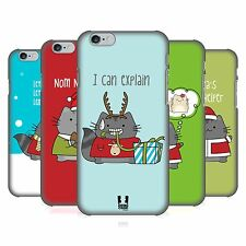 HEAD CASE DESIGNS WILBUR CHRISTMAS HARD BACK CASE FOR APPLE iPHONE PHONES