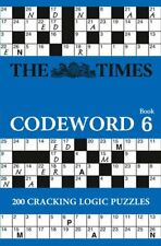 The Times Codeword 6 by The Times Mind Games (Paperback, 2015)