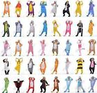 Unisex Adult Fleece Onesies Kigurumi Animal Pajamas Cosplay Costume Sleepwear