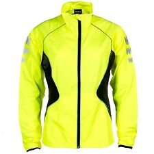 WOWOW MENS OUTDOOR BIKE DARK REFLECTIVE HIGH VISIBILITY FULL SLEEVES JACKET