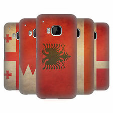 HEAD CASE DESIGNS BANDIERE VINTAGE SET 6 COVER RETRO RIGIDA PER HTC TELEFONI 1