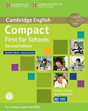 Compact First for Schools Student's Book without Answers with CD-ROM, Matthews,