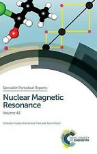 Nuclear Magnetic Resonance: Volume 43 (Specialist Periodical Reports), Very Good