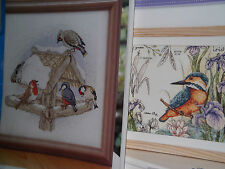 BIRDS CROSS STITCH CHARTS YOU CHOOSE FROM 10 SELECTIONS #134
