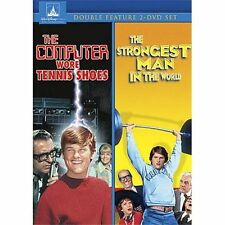 The Computer Wore Tennis Shoes/The Strongest Man In The World DVD Region 1, NTSC