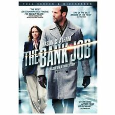 THE BANK JOB New Sealed Widescreen DVD Jason Statham Based on a True Story