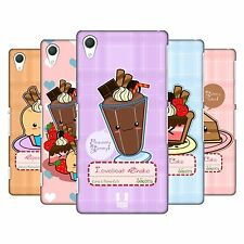 HEAD CASE DESIGNS KAWAII CAKES AND SHAKES HARD BACK CASE FOR SONY PHONES 2