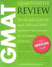 The Official Guide for GMAT Quantitative Review (2005, Paperback)