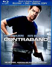 NEW Contraband (Blu-ray/DVD, 2012, 2-Disc Set Sealed