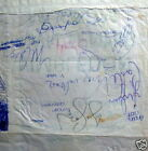 SIGNED BOBBY MOORE WIMBLEDON TENNIS BAG FOOTBALL WORLD CUP ENGLAND 1966