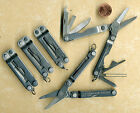 LEATHERMAN MICRA MINI MULTI TOOL STAINLESS STEEL LOT OF 5