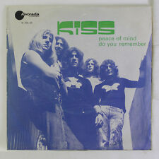 KISS: Peace Of Mind / Do You Remember 45 (Portugal, PS w/ sl wear) rare Rock &