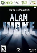 ALAN WAKE XBOX 360 LIVE - FULL GAME DOWNLOAD CARD - NEW!