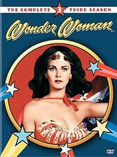 WONDER WOMAN - THE COMPLETE THIRD SEASON~1978 MINT 4 DISC DVD SET~ALL 24 EPISODE