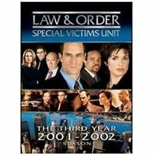 Law & Order: Special Victims Unit - The Third Year (DVD, 2007, 5-Disc Set)