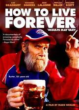 How to Live Forever (DVD, 2012) brand new and sealed!