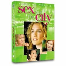 Sex and the City - Season 6 Part 1 (DVD, 2004, 3-Disc Set) Very Good Condition
