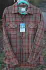 VTG 60s Macys Supre-Macy Washable Wool Rockabilly Flannel Shirt L 16.5 NWT 4