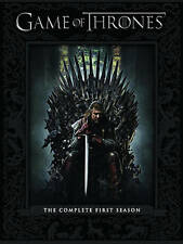New Game of Thrones: Season 1 (DVD, 2012, 5-Disc Set) Factory Sealed