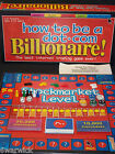 How to be a dot.com billionaire, Board Game. Paul Lamond, 2000. Complete.