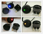 4pcs red + yellow + blue + green Dot Led 12V OFF/ON Car Boat Truck Rocker Switch