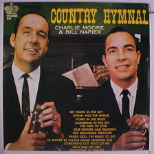 CHARLIE MOORE & BILL NAPIER: Country Hymnal LP Sealed (re) Bluegrass