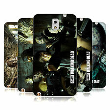 AMC THE WALKING DEAD WALKERS AND CHARACTERS SOFT GEL CASE FOR SAMSUNG PHONES 2