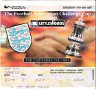 1997 FA Cup Final ticket........Chelsea v Middlesbrough