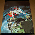 DRACULA LIVES #3 POSTER GARGOYLES VAMPIRES ADAMS FAMILY LEGION OF MONSTERS BLOOD