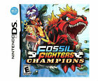 NINTENDO DS FOSSIL FIGHTERS CHAMPIONS NEW DINOSAURS VIDEO GAME
