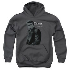 James Dean Trench Big Boys Pullover Hoodie