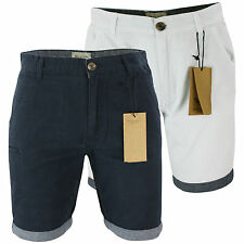 Mens Brave Soul 'Hansencham' Tailored Cotton Shorts Summer Shorts S-XL