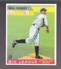 BILL DICKEY 1983 REPRINT OF 1933 GOUDEY CARD by RENATA GALASSO #19