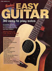 HOOKED ON EASY GUITAR 30 SOLOS BOOK & CD SALE! RRP $40!