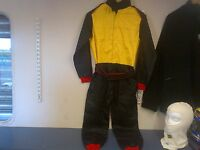 KIDS OVERALLS (RACING STYLE SUIT) HIGH QUALITY 2 COLOUR stockcar brisca saloon
