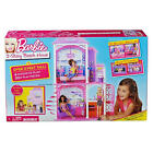 BARBIE 2 STORY VACATION BEACH HOUSE PINK NEW