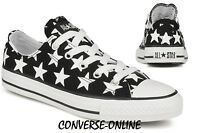 KIDS Boy Girl CONVERSE All REPEAT STAR Black White Trainers Shoe 28.5 UK SIZE 11