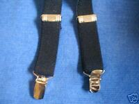 LITTLE  BOYS/GIRLS  SUSPENDERS - BRAND NEW! NAVY/MADE IN THE USA