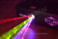 New 1000mW 1W RGB Full Color Animation Laser Projector Stage Light ILDA DMX 30K