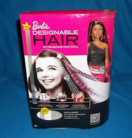 BARBIE DESIGNABLE HAIR WITH EXTENSIONS AND BARBIE DOLL AA NEW