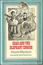 CHAD AND THE ELEPHANT ENGINE BY MARJORIE FILLEY (1975)