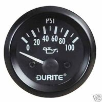 L@@K BRAND NEW CAR BOAT CAMPER PLANT TRUCK 12v OIL PRESSURE GAUGE DURITE NEW