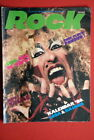 TWISTED SISTER ON COVER 1985 RARE EXYU MAGAZINE