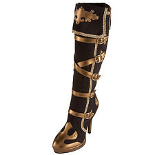 Lady Pirate Boots Anna Black & Gold ARENA-2012