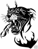 Panther Tribal Sticker, decal, graphic car,truck